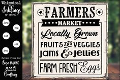 Shop 2503 products by Whimsical Inklings on Design Bundles Practice What You Preach, Farmers Market Recipes, Flowers For You, The Way Home, Fruits And Veggies, Marketing, Learning, Decals, Jpg File