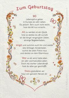 10 Besten 90 Geburtstag Bilder Auf Pinterest
