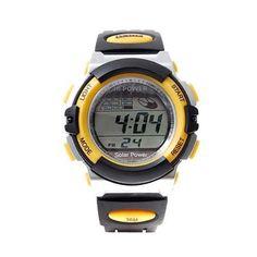 BestOfferBuy Reloj Deportivo Unisex Informal Digital Silicona Ejercicio Amarillo