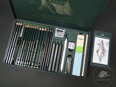 Pitt Monochrome grafit Faber-Castell set/ 26 buc