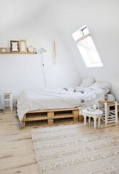 Pallets como base de cama
