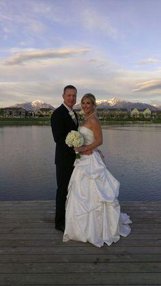 Wedding photo idea- Picture taken at Daybreak Lake