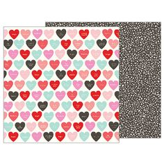 Pebbles - Forever My Always Collection - 12 x 12 Double Sided Paper - Be Still My Heart