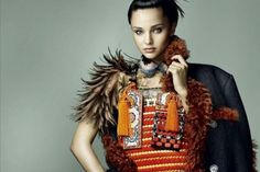 "Miranda Kerr se viste de ""geisha"" para Vogue Japón (Foto)"