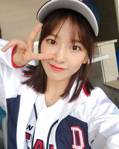 """[📷] Releasing IZ*ONE's baseball stadium photos to make everyone's weekend happy💕 "" Yuri, Japanese Names, Japanese Girl Group, K Idol, Her Smile, The Wiz, Korean Women, Unique Fashion, Korean Girl Groups"