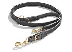 Schröders Hund - Die zum Hundehalsband passende robuste Hundeleine OLD SCHOOL in der Farbe Schwarz aus traditionell grubengegerbtem Rinds-Vollleder mit hochwertigen Handnähten von Schröders Hund. Preis: 149€. Mehr erfahren: http://schroedershund.de/produkt/leine-oldschool/?attribute_pa_color=schwarz&attribute_pa_size=2mx20#products