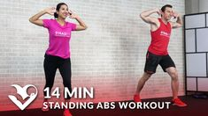 13 Min Standing Ab Workout - HASfit - Free Full Length Workout Videos and Fitness Programs