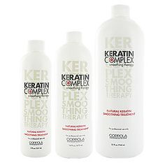 keratin complex therapy treament for straight, shiney, friz free hair! Last 4-6 months. I have used this treatment on friends and family.