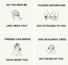 Do you miss me like I miss you?