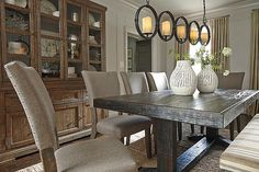 Gray Strumfeld Dining Room Chair View 6