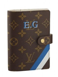 Louis Vuitton personalised passport cover... for the person who has everything.Need one of this badly !