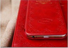 Coque Mosso Vintage supermince cuir à rabat d'iPhone 6s 6s plus achat sur lelinker.fr