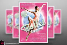 Dance Ballet Flyer Template V2 By Thats Design Studio