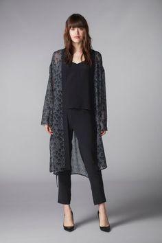 ♥︎ hálon Neva kimono sävyssä Grey