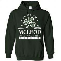 MCLEOD st patrick day - #pink shirt #oversized hoodie. CHECK PRICE => https://www.sunfrog.com/Camping/MCLEOD-Forest-85850710-Hoodie.html?68278