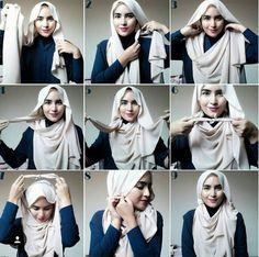 10 Tutorial Hijab Pashmina untuk Sempurnakan Penampilan Kamu