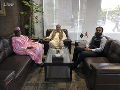 Senator Aliyu M. Wamakko, Governor Sokoto State, Sokoto North Senatorial District visits Patron in Chief M.A. Raoof and Chairman Awais Raoof at University of Lahore.