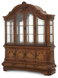 Coaster Tabitha Traditional China Cabinet in Dark Cherry | China ...