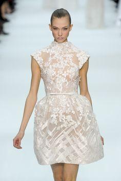 Elie Saab RTW SS 2012 #short #wedding #dresses