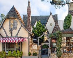 The Tuck Box -Hugh Comstock's Fairytale Cottages by the Sea in Carmel, California.