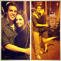 Caroline Celico with Kaka Caroline Celico, Ricardo Kaka, Shiva Lord Wallpapers, Best Player, Football Players, Milan, How To Look Better, Soccer, Handsome