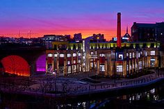Toffee Factory Sunset   Quayside, Newcastle upon Tyne, England