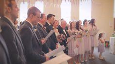 White Balloon Films / Church Wedding / Glen Tanar Ballroom Wedding / Wedding Videographer Scotland / Ceremony