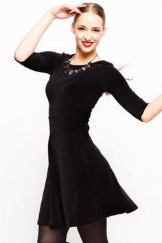 Elbise - Kışlık Kadife Elbise