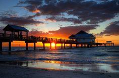 Clearwater Beach Pier 60: mine & Derek's engagement spot