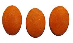 Natural Coconut Oil Soap with Papaya, 3 Bars
