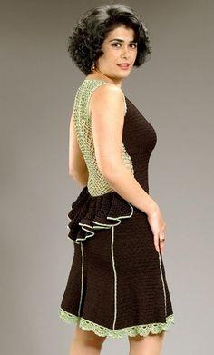 Amazing crochet dress from Irina Fasone Designs on Etsy