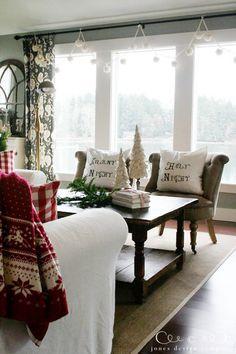 christmas house tour: northwest coastal edition