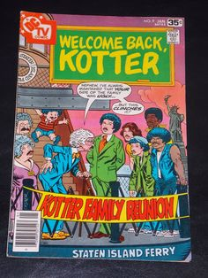 1978 DC Welcome Back Kotter # 9 Comic Book Free Shipping
