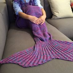 SHARE & Get it FREE | Chic Quality Comfortable Drawstring Style Knitted Mermaid Design Throw BlanketFor Fashion Lovers only:80,000+ Items·FREE SHIPPING Join Dresslily: Get YOUR $50 NOW!