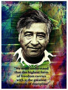 By Cesar Chavez
