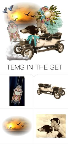 """""""Migrating Home"""" by pattysporcelainetc ❤ liked on Polyvore featuring art and vintage"""