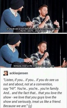 Love jensen and jared . we are friends