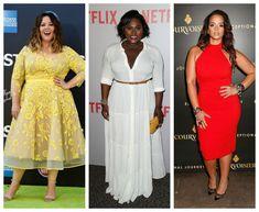 5 Universally Flattering Dresses For Plus Size Women Flattering Plus Size Dresses, Dresser, Hourglass Fashion, Plus Size Shopping, Print Jacket, Summer Dresses, Formal Dresses, Pattern Making, Plus Size Women