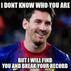Football career of Argentine striker started in in 2000 at age Lionel Messi crossed the Atlantic to find his luck in Barcelona. Messi has achieved Funny Soccer Pictures, Messi Pictures, Funny Soccer Memes, Sports Memes, Funny Football, Funny Sports, Messi Funny, Soccer Pics, Soccer Humor