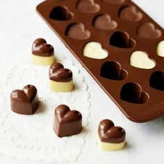 Baking & Pastry Tools Kitchen,dining & Bar Non-stick Silicone Chocolate Molds Love Heart Shaped Jelly Ice Molds Cake Mould Cake Mold Lollipop Biscuit Bakeware Baking Tools Superior Materials