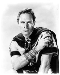 "Charlton Heston as Judah Ben-Hur. ""Ben-Hur"", 1959."