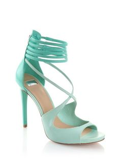 """""""Lena"""" Guess by Marciano mint heels love these"""