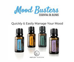 These 4 blends are perfect to quickly and easily manage your mood and keep you stress free. Just add a few drops depending on your mood and diffuse. Feeling tense and worried? Serenity can lessen those feelings and soothe the senses. Breathe helps you breathe easy while minimizing the effects of seasonal threats. Citrus Bliss has refreshing properties that can uplift your mood and reduce stress! Balance creates a sense of calm and promotes tranquility and relaxation. www.hayleyhobson.com