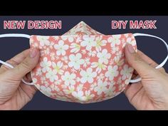 Sewing Basics, Sewing Hacks, Sewing Tutorials, Sewing Crafts, Small Sewing Projects, Sewing Projects For Beginners, Diy Mask, Diy Face Mask, Face Masks