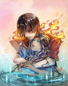 I always kinda wished Katara and Zuko would end up together. Zutara-Fire and Water Melody by *kelly1412
