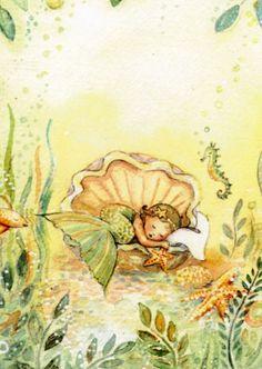 Vintage Mermaid Art Print Illustration Buy various High Quality vintage wall art at an affordable price. Mermaid Fairy, Mermaid Room, Mermaid Tale, Baby Mermaid, The Little Mermaid, Fantasy Mermaids, Real Mermaids, Mermaids And Mermen, Art Vampire