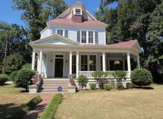 FSBO - Macon GA - Remodeled 2-Story Queen Anne. Gorgeous Victorian masterpiece in popular Vineville historic district of Macon. Recently remodeled. Lots of natural light. Spacious fenced level yard and large deck. Possibility for 2 master suites. Office space in addition to 3 bedrooms. Huge front porch you will want to live on!