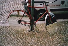 ♀♅☽ Mirror Bicycle #street #urban #mirror