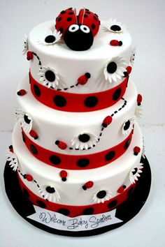 LATES BABY SHOWER CAKES | Baby-Shower-Cakes-NJ-Lady-Bug-Custom-Cakes.jpg