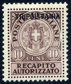 1931 Tripolitania : entrega autorizada .Italian Colonial Stamps - Tripolitania